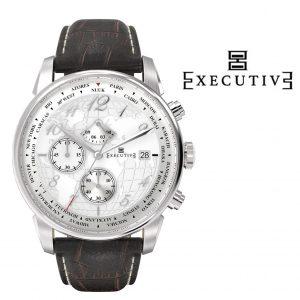 Relógio Executive® Club Leather EX-1001-26