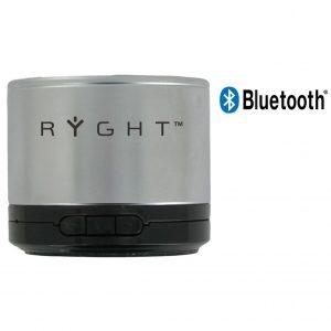 Coluna Bluetooth Ryght Y-Storm Silver Com Microfone