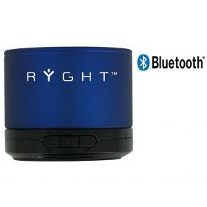 Coluna Bluetooth Ryght Y-Storm Dark Blue Com Microfone