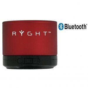 Coluna Bluetooth Ryght Y-Storm Red Com Microfone