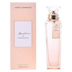 Perfume Mulher Agua Fresca Rosas Blancas Adolfo Dominguez EDT 200 ml