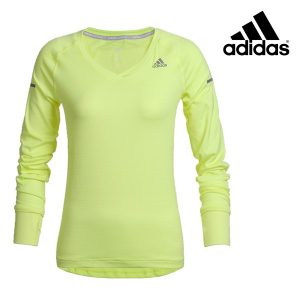 Adidas® Camisola Running Yellow | Tecnologia Climalite®