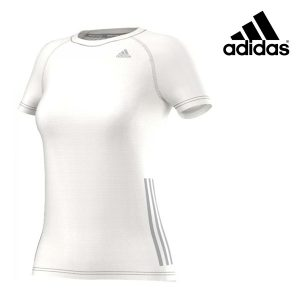Adidas® T-Shirt Running Dyed White | Tecnologia Climacool®