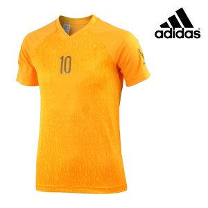 Adidas® T-Shirt Performance Messi Orange Junior | Tecnologia Climalite®
