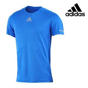 Adidas® T-Shirt Running Tee Blue   Tecnologia Climalite®