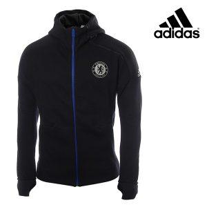 Adidas® Casaco Com Carapuço Chelsea Oficial Preto