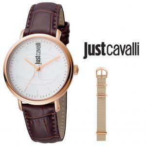 Relógio Just Cavalli® JC1L012L0045   Com Bracelete Extra!