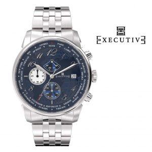 Relógio Executive® Club Steel EX-1001-12