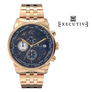 Relógio Executive® Club Steel EX-1001-16