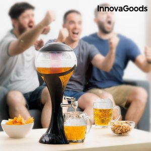 Dispensador de Cerveja Com LED World Cup Kitchen Fun