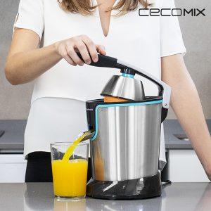 Espremedor Elétrico de Braço Cecomix Adjust Black 4077 160 W Aço