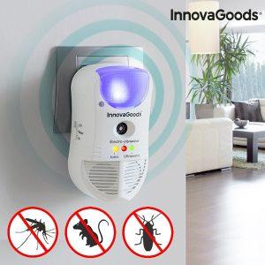 Repelente de Pragas Com LED e Sensor 5 em 1 Home Pest