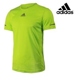 Adidas® T-Shirt Running Yellow Tee   Tecnologia Climalite®