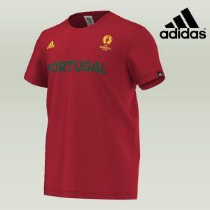 Adidas® T-Shirt Portugal Uefa Euro 2016 | TecnologY Climalite®