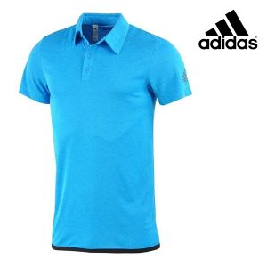 Adidas® Polo Uncontrol Azul | Tecnologia Climachill®