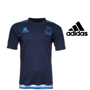 Adidas® T-Shirt Performance Itália Rugby Azul Marinho