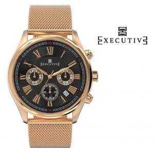 Relógio Executive® Blazer Mesh EX-1005-25