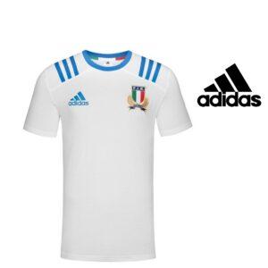 Adidas® T-Shirt Performance Itália Rugby Branca