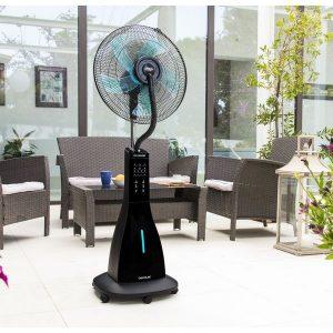 Ventilador Nebulizador Cecotec Forcesilence 690 Freshessence 90W