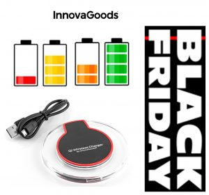 TOP PREÇO BLACK FRIDAY Carregador Sem Fios Para Smartphones Qi Gadget Tech