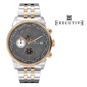 Relógio Executive® Club Steel EX-1001-25
