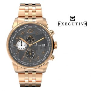 Relógio Executive® Club Steel EX-1001-13