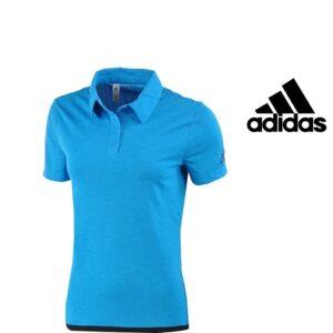 Adidas® Polo Uncontrol Women Azul | Tecnologia Climachill®