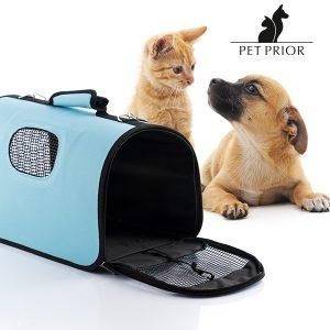 Caixa de Transporte Para Animais de Estimação Dobrável Pet Prior