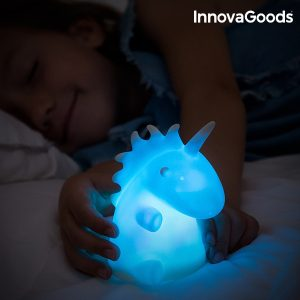Candeeiro Unicórnio Multicolor LED Gadget Kids