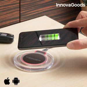 Carregador Sem Fios Para Smartphones Qi Gadget Tech