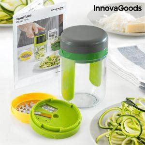 Ralador e Cortador de Legumes em Espiral Com Livro de Receitas Kitchen Foodies