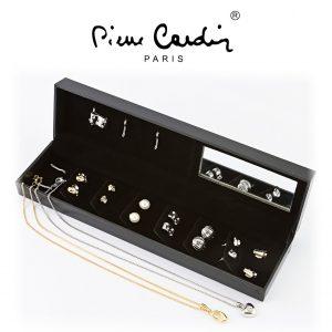 Conjunto Pierre Cardin® PXX0165W | 2 Colares + 3 Pendentes + 6 Pares de Brincos