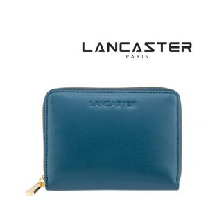 Carteira Pele Lancaster Paris® Azul | PLP001