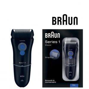 Máquina de Barbear Braun 130 Series 1 Preto