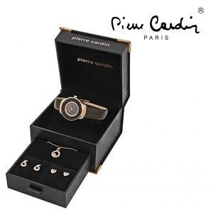 Conjunto Pierre Cardin® PCX0312L04 | Relógio | Colar | 2 Pares de Brincos