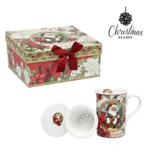 Chávena com Caixa Christmas Planet 4230