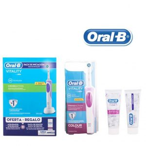 Conjunto de Higiene Oral Vitality Crossaction Oral-B | 3 Peças