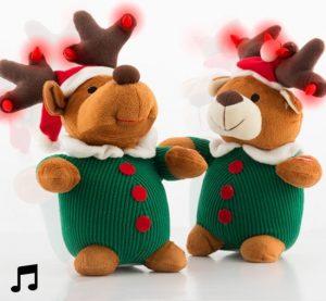 Rena de Natal que Canta e Dança