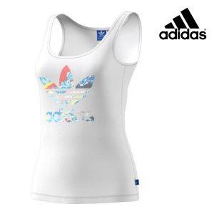 Adidas® Caveada Originals White Trefoil