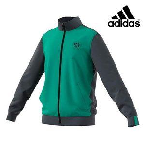 Adidas® Casaco Roland Garros Tennis Green Júnior | Tecnologia Climalite®