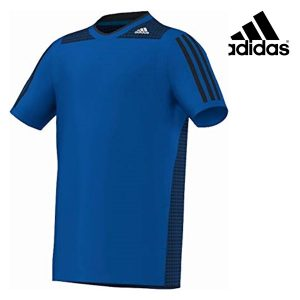 Adidas® T-Shirt Training Junior Blue | Tecnologia Climacool®