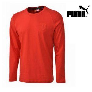 Puma® Camisola Ferrari Vermelha | 100% Algodão