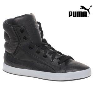 Puma® Sapatilha Bota em Pele | Roxo