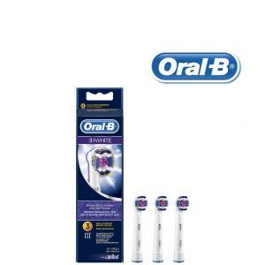 Recargas para Escovas de Dentes Elétricas Oral-B 3D White