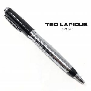 Caneta Ted Lapidus Paris® S5601003 | Black and IP Silver