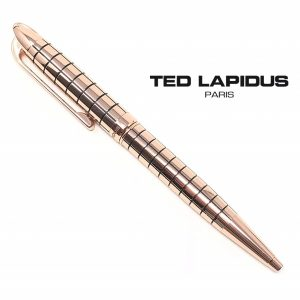 Ted Lapidus® Pen S5601104P | Retractable Ballpoint Satin Rose Gold Plated