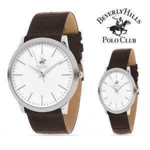 Conjunto de 2 Relógios Beverly Hills Polo Club® Homem e Senhora