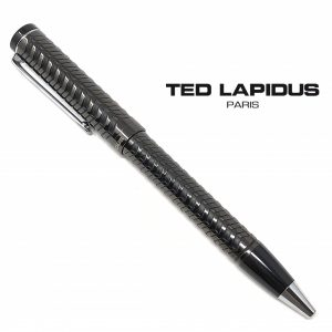 Caneta Ted Lapidus Paris® S5601401 | Retractable Ballpoint Black Wave