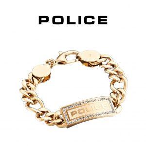 Pulseira Police® PJ.25144BSG/01-L | 22cm