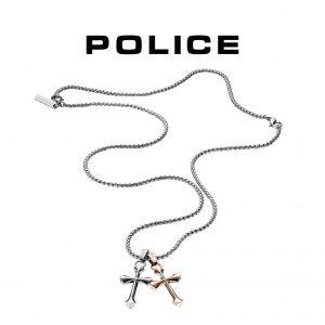 Colar Police® PJ.25524PSSRG/01